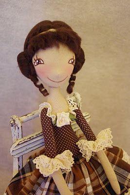 NKALE :-) В каждой игрушке сердце: Кофеюшка Жаклин