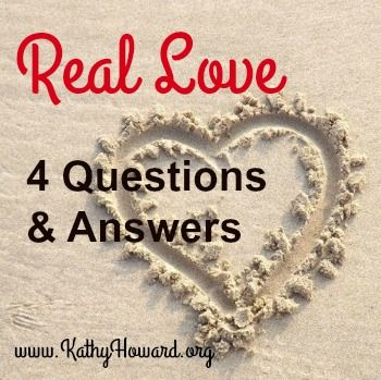What is real love? Where do we go for the answer? The culture or God's Word. the Bible tells us how to love, who to love, and why we should love.