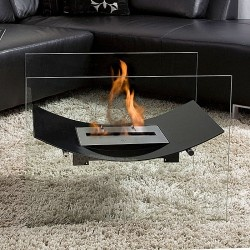 Bio-Blaze Veniz Fireplace - Indoor or outdoor fireplace that do not require any installation, nor release any smoke or smell.