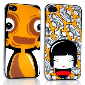 iphone cover robot_geisha