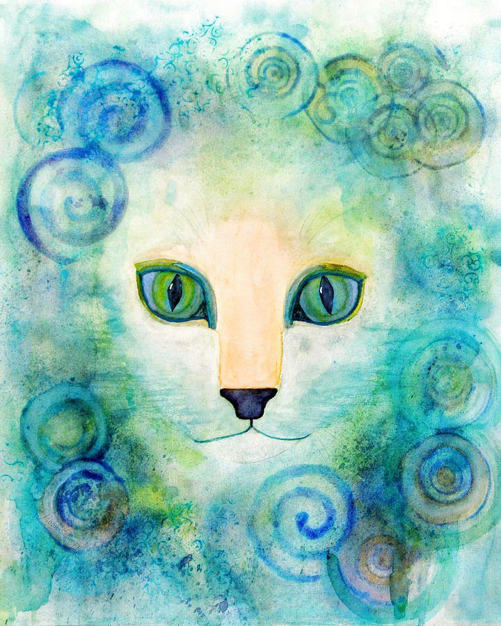Spiral Cat by Moon Stumpp