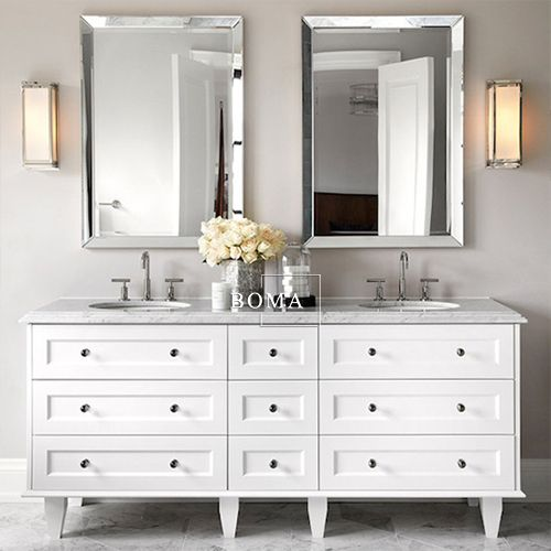 Magnificent Boma 72 Inch Modern Custom Solid Wood Bathroom Vanity Home Interior And Landscaping Ferensignezvosmurscom