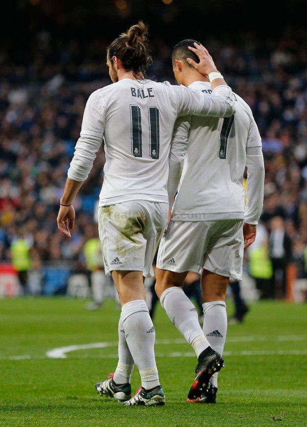 Gareth Bale & Cristiano Ronaldo                                                                                                                                                                                 More