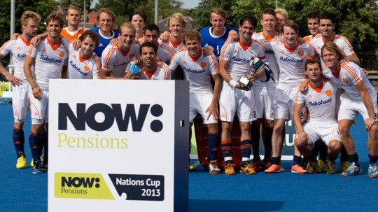 The final match of the NOW: Pensions Nations Cup did not disappoint as four goals apiece from England and the Netherlands resulted in a thrilling draw.Goals from Beeston teammates Ben Arnold and Michael Hoare, as well as two own goals, proved not to be enough as the Netherlands snatched a last minute equaliser to draw the scores level at 4–4 and take a series win 1–0.