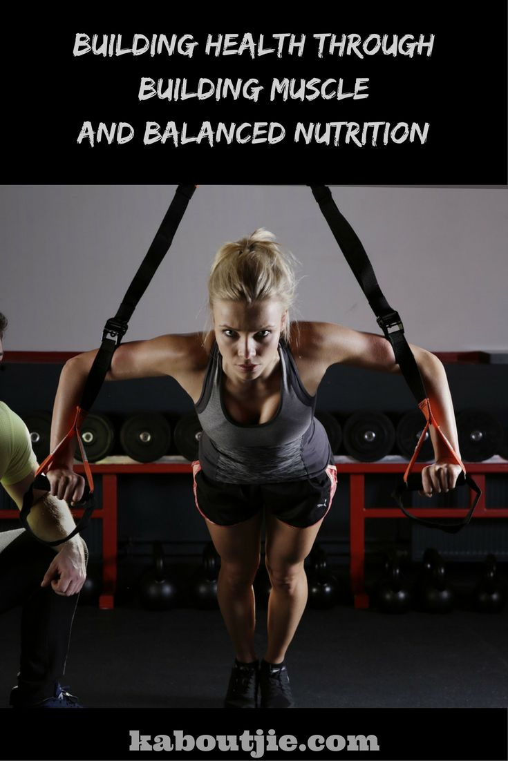 Exercise and nutrition plays a vital role in building your muscles, which in turn can have an effect on your overall health and well-being.  #GuestPost #BuildingMuscle #BalancedNutrition #HealthyLiving