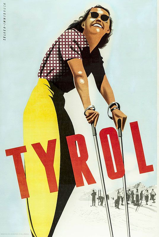 Vintage skiing posters - Telegraph