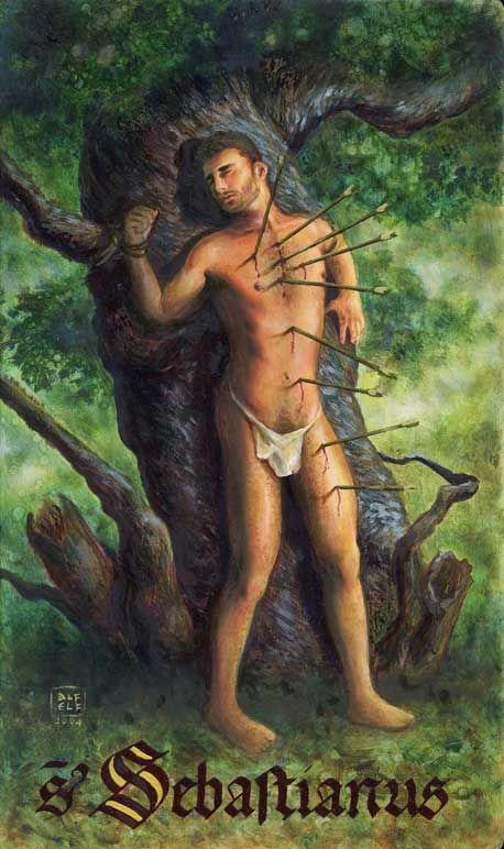Patron saint of nudists