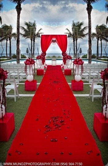 17 Best Ideas About Red Wedding Decorations On Pinterest
