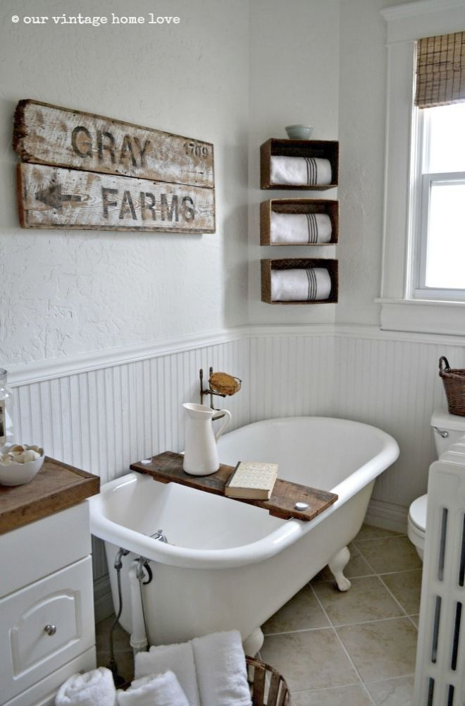 Country Bathroom Decorating Ideas Pinterest Rustic Bathroom