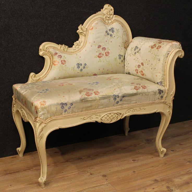 650€ Venetian love seat in lacquered wood. Visit our website www.parino.it #antiques #antiquariato #furniture #lacquer #sofa #canape #divano #antiquities #antiquario #chair #armchair #fauteuil #decorative #interiordesign #homedecoration #antiqueshop #antiquestore