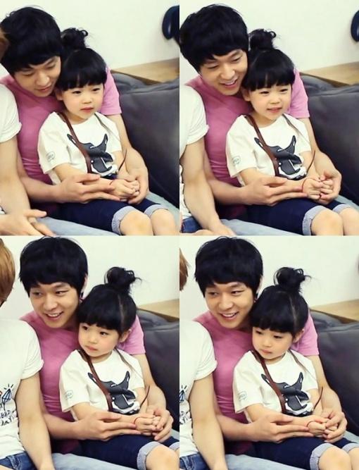 JYJ Yoochun and Kim Yoo Bin....So cute <3
