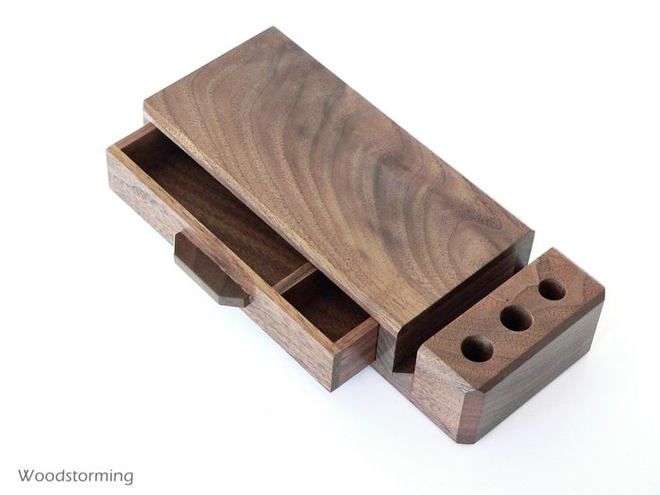 Home office organizer -  wooden desk organizer with drawer - elegant wood desk storage - MADE TO ORDER by Woodstorming on Etsy https://www.etsy.com/listing/178353213/home-office-organizer-wooden-desk