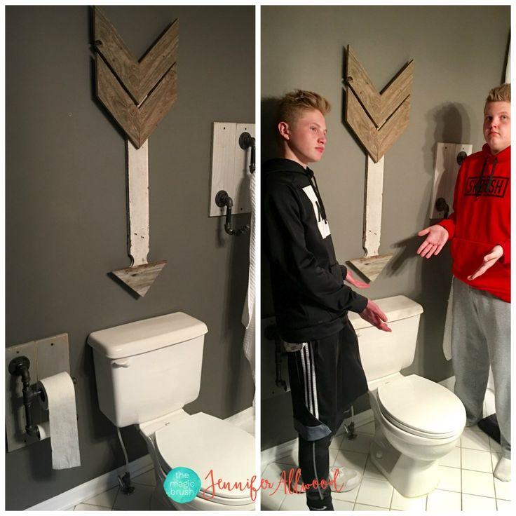 Our teen boy's bathroom reveal