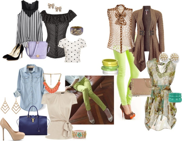 """""""Lime Green Pants"""" by amikins84 ❤ liked on Polyvore"""