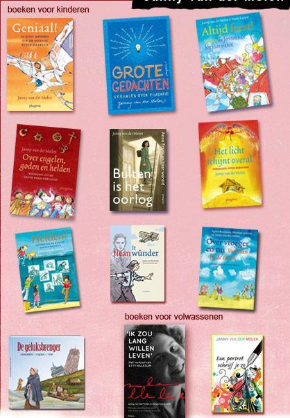 Veel boeken van Janny van der Molen zijn informatief en fraai geschreven. Met name het boek over helden zal veel kinderen aanspreken.