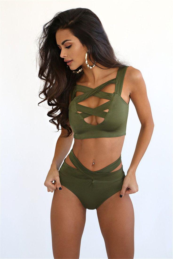 Whitney Bandeau Bikini Set