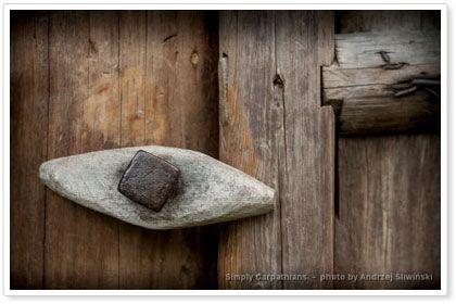 Wooden architecture - detail. www.simplycarpathians.com