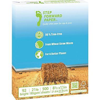 80% Wheat Straw   FSC-Certified Copy Paper