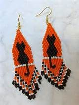 beaded halloween earrings - Yahoo Image Search Results