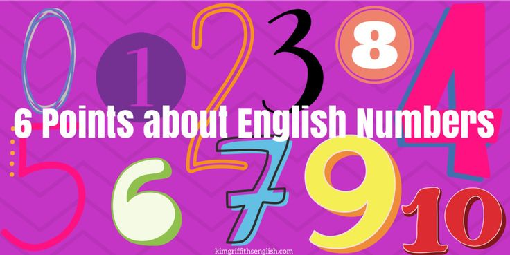 How to write basic numbers, How to pronounce the difference between 18 and 80, Comma for thousands, Odd and Even numbers, Favorite numbers, Spot the mistake quiz question