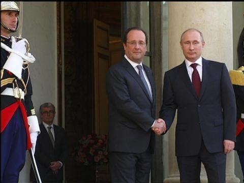 """Colleville-sur-Mer. [Vidéos] Débarquement de Normandie : François Hollande : """"Je suis né à Rouen, ville détruite"""" « Article « 76actu"""
