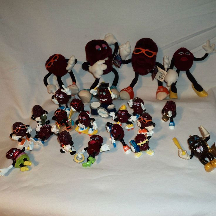 Vintage CALIFORNIA RAISINS Bans Music Plastic Toy Collectible Character Children in Toys & Hobbies, TV, Movie & Character Toys, California Raisins | eBay