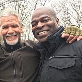 With these two in tow, we can handle any situation. #TheBlacklist  : Hisham Tawfiq