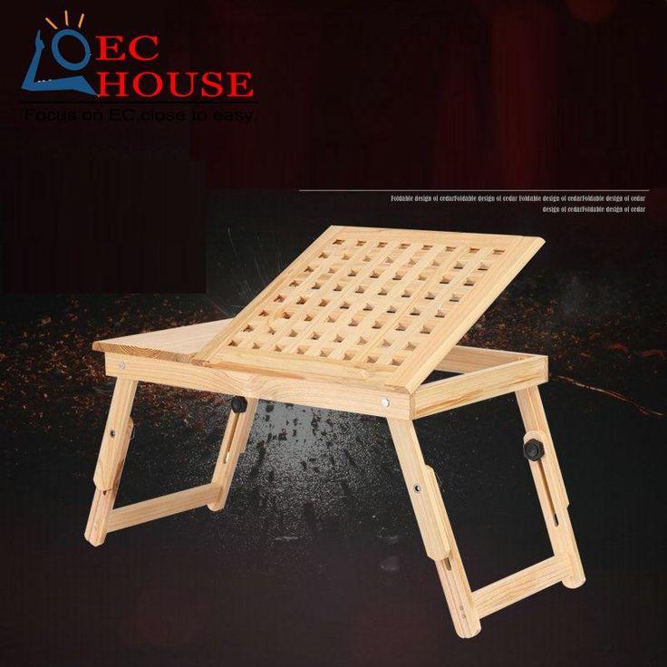 Madera portátil comter plegable sobre la mesa perezoso cama dormitorio de estudiantes que están aprendiendo un pequeño escritorio. ENVÍO GRATIS