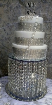 Wedding Crystal Cake Stand 52% off retail