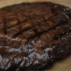 Flank Steak with a Port Wine Marinade - This might happen tonight