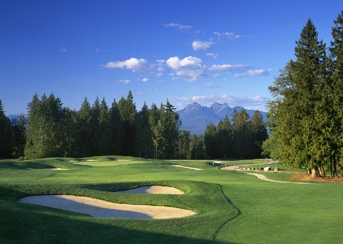 Redwoods Golf Course is a great place to play a round with some great scenery.
