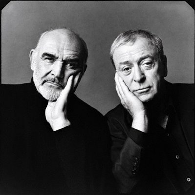 Connery and Caine