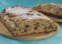 Dresden Stollen: The tradition of baking Dresden Stollen is a very old one and can be traced back to around 1400 A.D.