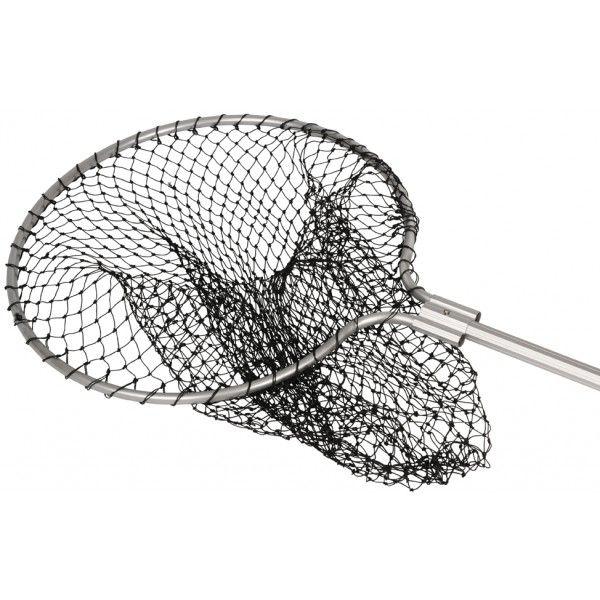Fångsthov med långt teleskopskaft för att fånga in höns och andra fjäderfän. Hov som även används vid fiske.