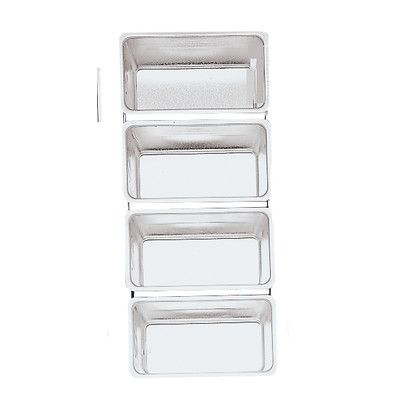 Fox Run Craftsmen 4662 Bakeware Linked Bread Pans (Set of 4)