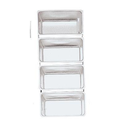 Fox Run Craftsmen 4662 Bakeware Linked Bread Pans (Set of 4)