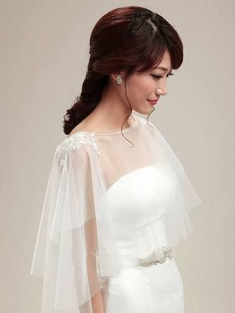 bridal capelet - Google Search