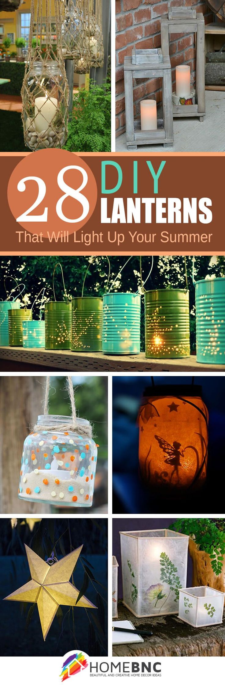 Homemade garden art ideas - 28 Diy Garden Lantern Ideas To Illuminate Your Backyard
