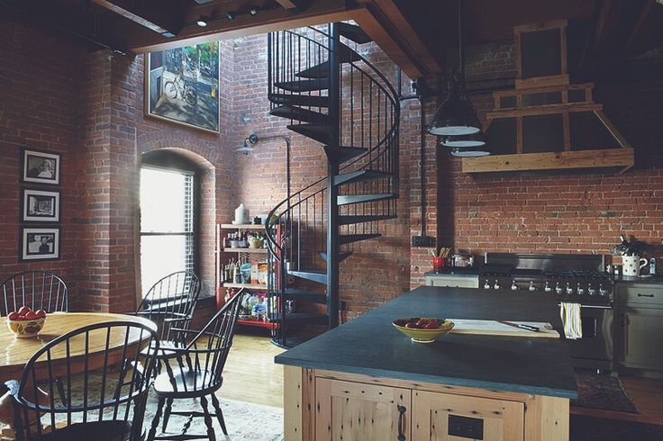 Warehouse-style loft in Boston So-hyun?