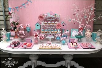 Love this for sweet table ideas...