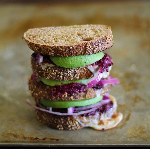 avocado beet pesto sandwich pesto sandwich sandwich recipes lunch ...