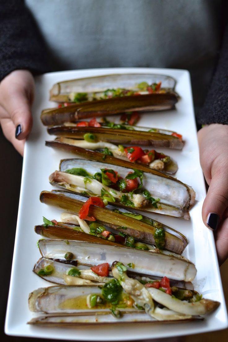 La Cuisine c'est simple: Simple comme les couteaux grillés de Christian Etchebest (Hotel Kilina, Porto-Vecchio)