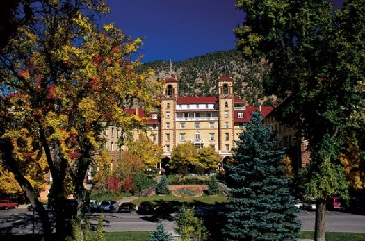 Or, maybe....Glenwood Springs, Colorado, where the natural springs run at a steamy 126 degrees F. It's been said ghosts roam the halls at the Hotel Colorado. Maybe you'll bump into Molly Brown, Alice Roosevelt or Al Capone. Enjoy the rich history of the historic mountain town where gunslingers and gamblers once caroused.: Favorite Places, Colorado Hotels, Glenwoodsprings Colorado, Travel