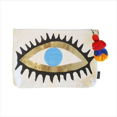 Evil Eye Clutch by Ourlieu In stock at www.Tigeroy.com