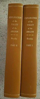 AMAZON PLANTATION SLAVERY FREING SLAVES 1854 2vols FIRST EDITION