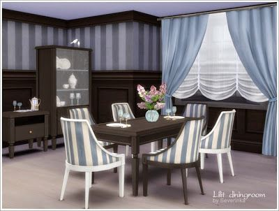 My Sims 4 Blog: Lilit Dining Room Set By Severinka