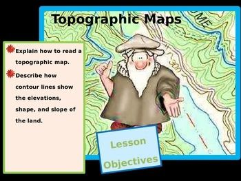 how to read a topographic map powerpoint