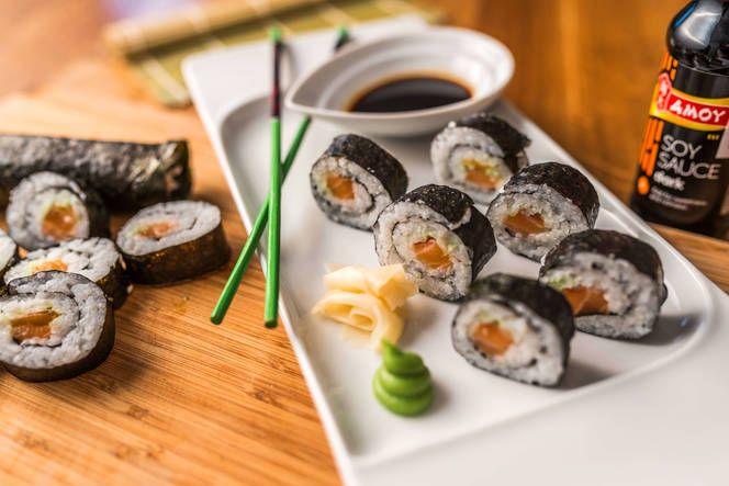 Maki sushi tekercs