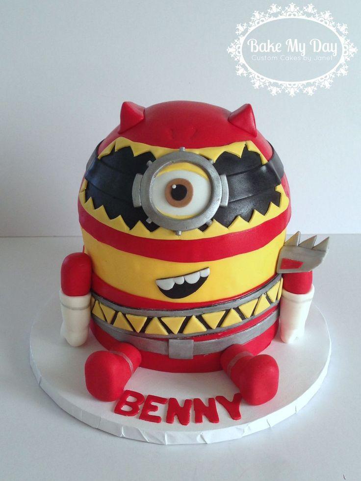 Power Ranger Dino Charge Birthday Cake