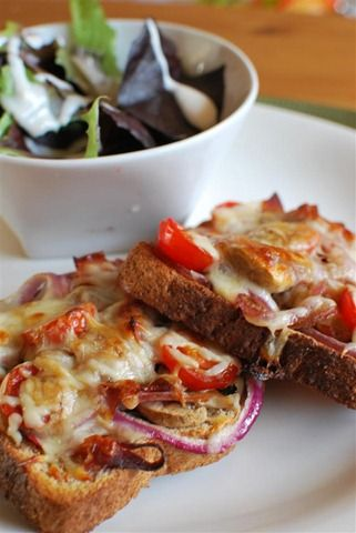 slimming world pizza toast